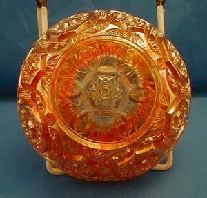 Marigold Carnival Berry Fruit Bowl Blaze Pattern