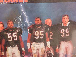 1985 Super Bowl Chicago Bears 1987 Poster