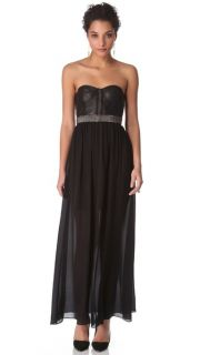 alice + olivia Mariah Bustier Gown