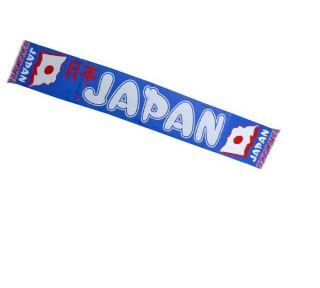 Japan Nippon Blue Samurai Soccer Football Sports Supporter Scarf