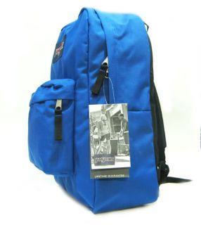 New Jansport Superbreak Royal Blue Streak Backpack School Bag Bookbag