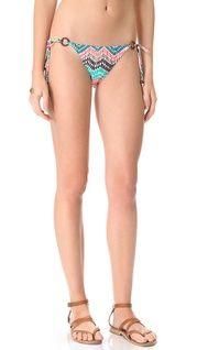 Shoshanna Ionian Mosaic Triangle Bikini Top