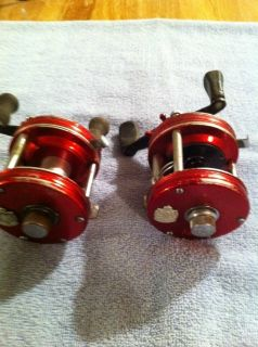 Two Vintage Abu Garcia Ambassadeur 5000 Fishing Reels 3 Screw