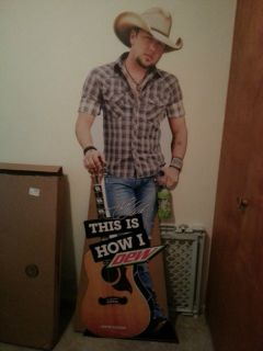 Jason Aldean Lifesize Cardboard Stand Up