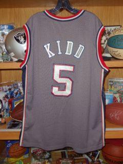 Jason Kidd Vtg New Jersey Nets Nike Jersey 2XL Sewn