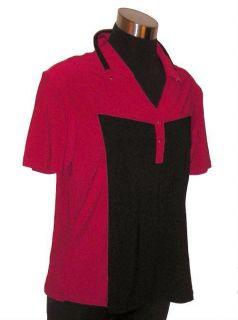 DKNY by Jamie Sadock Short Sleeve Golf Shirt Top S
