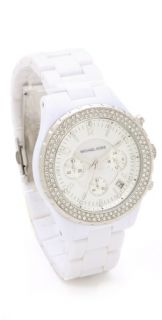 Michael Kors Madison Glitz Chronograph Watch