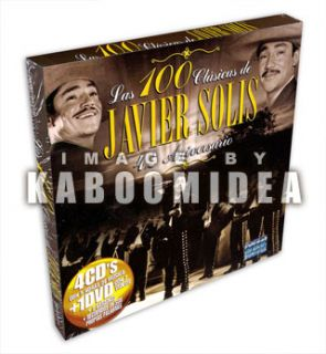 Javier Solis Las 100 Clasicas 4 CD 1 DVD Exitos New