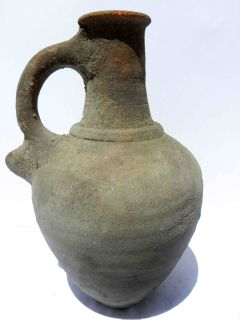 Biblical Ancient Jar Holy Land Roman Herodian Clay Pottery Jugs