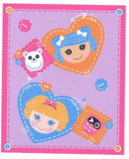 Lalaloopsy Cute as A Button Fleece Throw Blanket