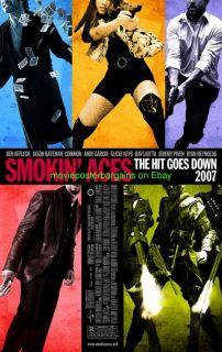 Smokin Aces Movie Poster Alicia Keys 27x40 Original 2S