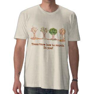 Camiseta del Día de la Tierra con los árboles que de