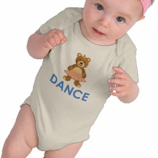Adorable Dance Bear Gifts T shirt