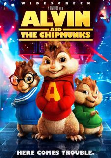 and The Chipmunks Poster Movie E 27x40 Jason Lee David Cross
