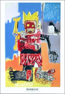 Jean Michel Basquiat Untitled Graffiti Art Poster