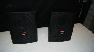JBL Control 25 2 Way 5 1 4 Indoor Outdoor Speaker with Wall Mounts