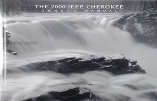 2000 Jeep Cherokee Original Owners Manual New Condition SE Sport