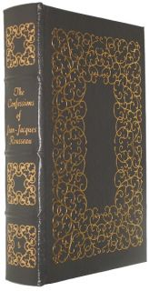 Press CONFESSIONS OF JEAN JACQUES ROUSSEAU Fine Binding 100 Greatest