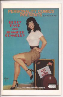 VF Betty Page Jennifer Connelly Bettie Greg Theakston