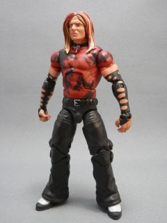 Custom Jeff Hardy Action Figure Mattel WWE WWF TNA Elite Hardy Boyz