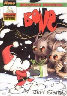 JEFF SMITH BONE HOLIDAY SPECIAL PROMO COMIC BOOK ROSE FONE SMILEY