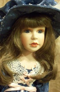 Porcelain Collectable Doll Jeanetteby Design Debut Limited Edition
