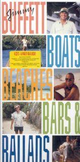 Jimmy Buffett Boats Beaches Bars Ballads 4 CD Set