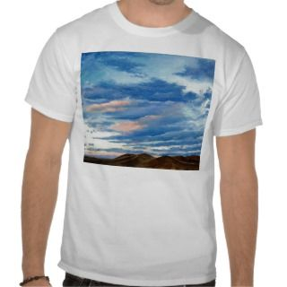 Colorado Sunset Oil Landscape Painting Tee Shirts