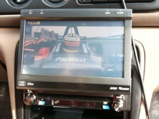 Jensen Phase Linear UV8 Multimedia Receiver 7 Touchscreen Used Tested