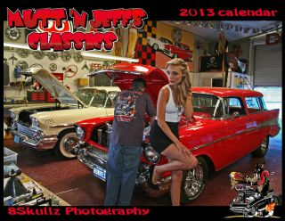 2013 Mutt n Jeffs Classic Calendar hot rod Pin up rat rod kulture cool