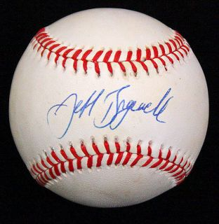 Jeff Bagwell Signed Autographed ONL Baseball Ball PSA DNA P25362