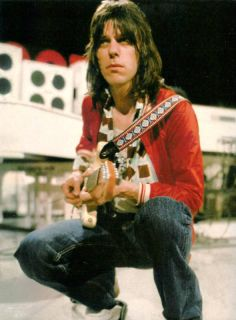 Jeff Beck Fender Stratocaster Guitar Print Ad