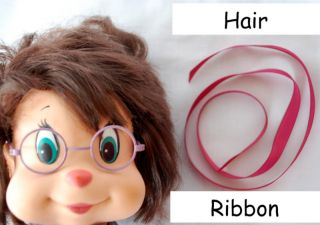 Alvin Chipmunks Chipettes Jeanette Replacement Ribbon