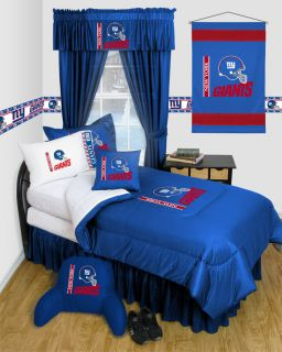 New York Giants LR Twin Full Queen Comforter Bed Sets