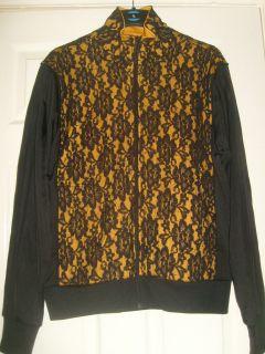 Adidas Jeremy Scott Flower Lace Track Top Jacket Medium BNWT
