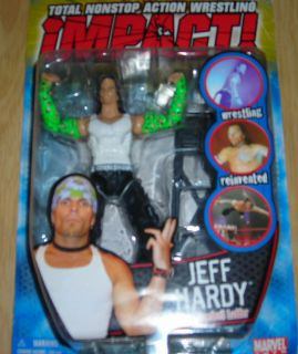 Jeff Hardy w Daredevil Ladder Impact TNA Action Figure