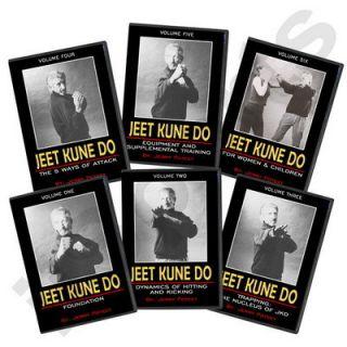 Jerry Poteet Martial Arts Jeet Kune Do Bruce Lee Jun Fan 6 DVD