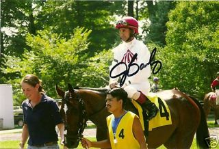 Jerry Bailey Signed Autograph Horse Racing Jockey