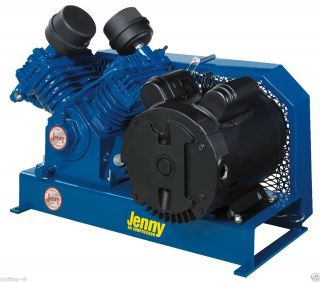 New Jenny G3A B Base Plate Mounted 230V Electric Air Compressor 3HP G