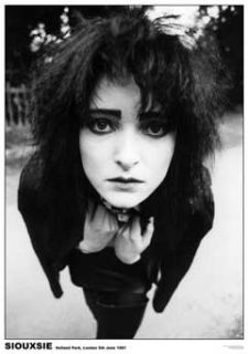Siouxsie Sioux Morrissey UK Goth The Cure Sexy Poster Print RARE