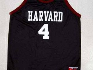 Jeremy Lin Harvard Jersey Chinese American Black New XL