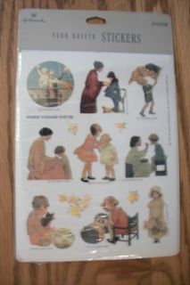 1992 HALLMARK ARTIST JESSIE WILLCOX SMITH STICKERS GOOD HOUSEKEEPING