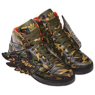 Adidas Jeremy Scott JS Camo Wings Panda Bones Shoes Size 6