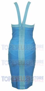 Jennifer Love Hewitt Blue Bodycon Bandage Dress XS s M L Celebrity