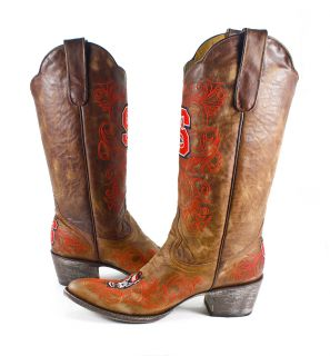 North Carolina State University Gameday Boots Womens Cowboy Boots