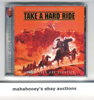 Take A Hard Ride Jerry Goldsmith Ed 3 000 CD Music Score Soundtrack