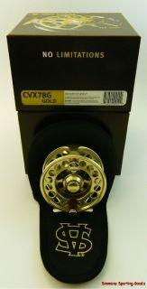 Van Staal C Vex Fly Reel CVX78G Gold