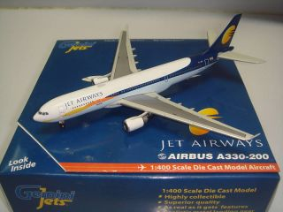 Gemini Jets Jet Airways A330 200 2007s Color