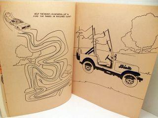 of Hazzard Coloring Activity Book General Lee Bo Luke Hazard