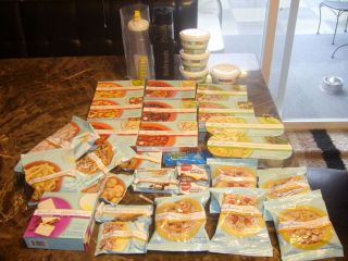 LOT NEW Jenny Craig Food Meals BREAKFAST LUNCH DINNER 40 Items Healthy